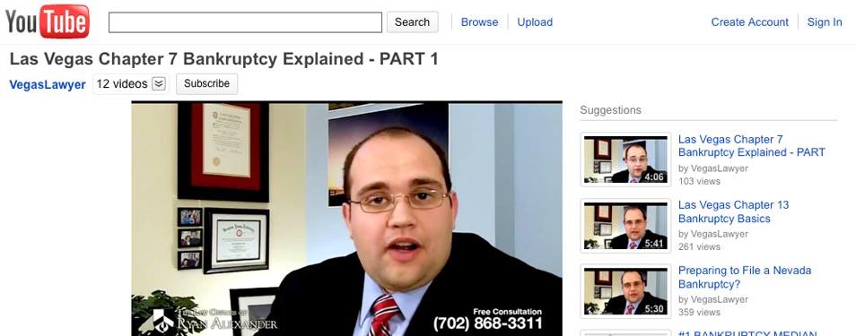 Bankruptcy Videos